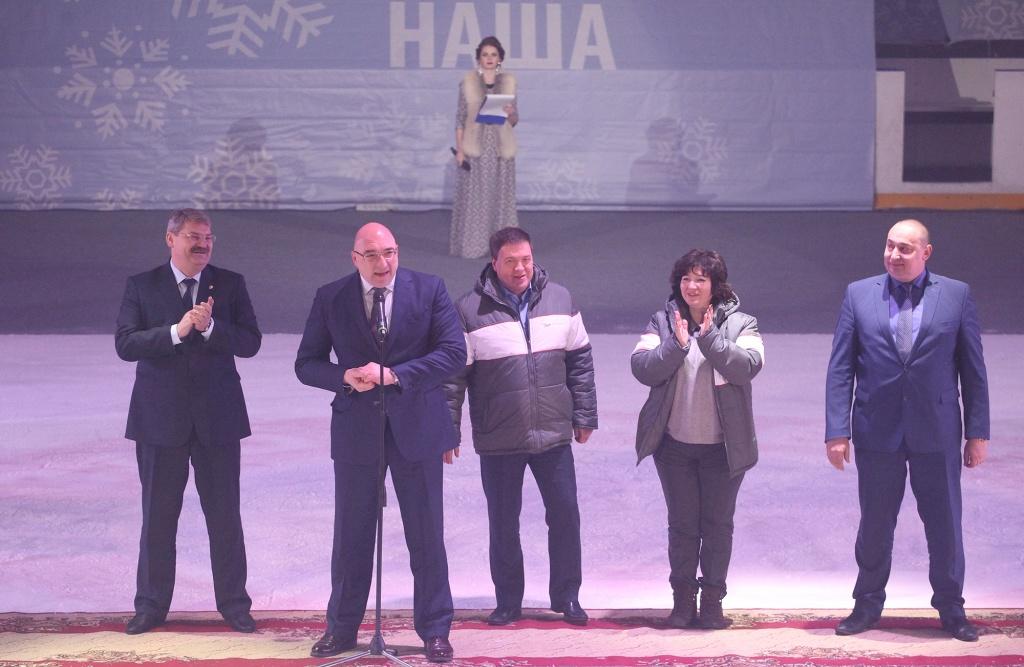 Участников Спартакиады приветствуют руководители Металлоинвест