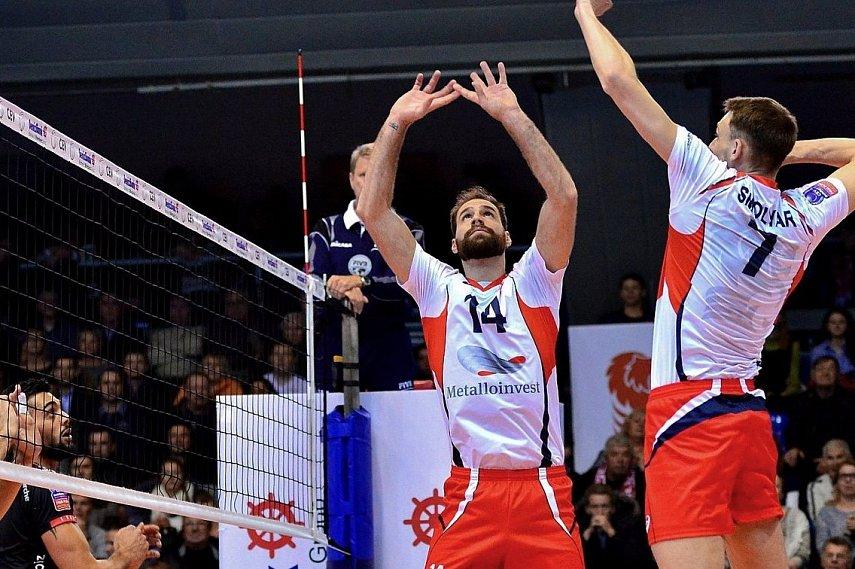 Волейболисты казанского «Зенита» победили «Локомотив» ивышли вфинал Кубка Российской Федерации